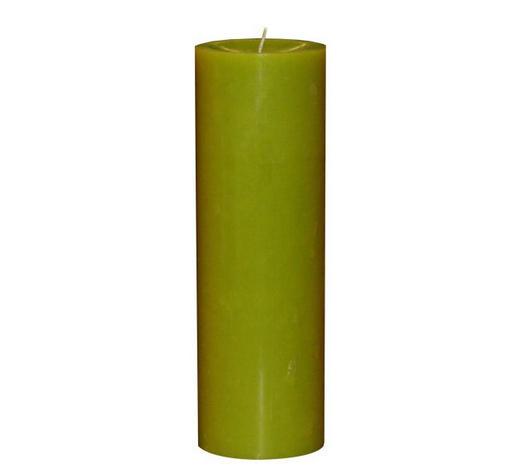 STUMPENKERZE 6,8/20 cm - Hellgrün, Basics (6,8/20cm) - Steinhart
