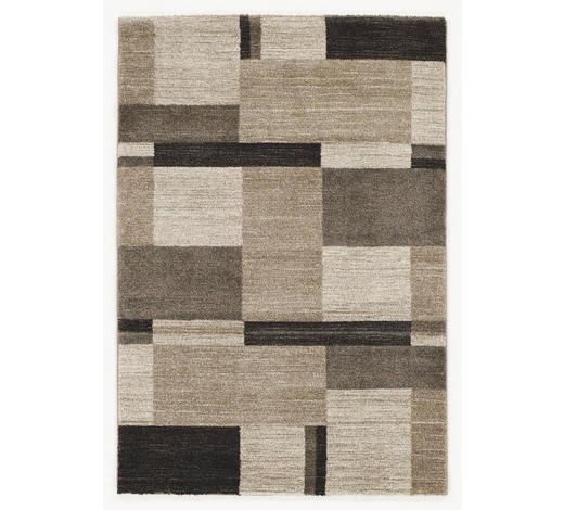 WEBTEPPICH - Beige/Braun, KONVENTIONELL, Textil (80/300cm) - Novel