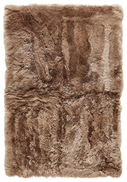 SCHAFFELL  120/180 cm  Taupe - Taupe, Basics, Fell/Textil (120/180cm) - Linea Natura