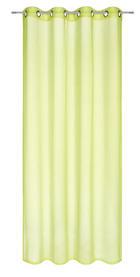 ZAVJESA S RINGOVIMA - zelena, Basics, tekstil (135/245cm) - Boxxx