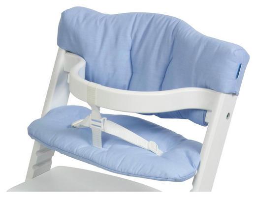HOCHSTUHLEINLAGE - Pastellblau, Basics, Textil - My Baby Lou
