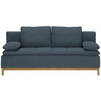 SCHLAFSOFA in Textil Blau - Blau, MODERN, Holz/Textil (200/96/88cm) - Joka