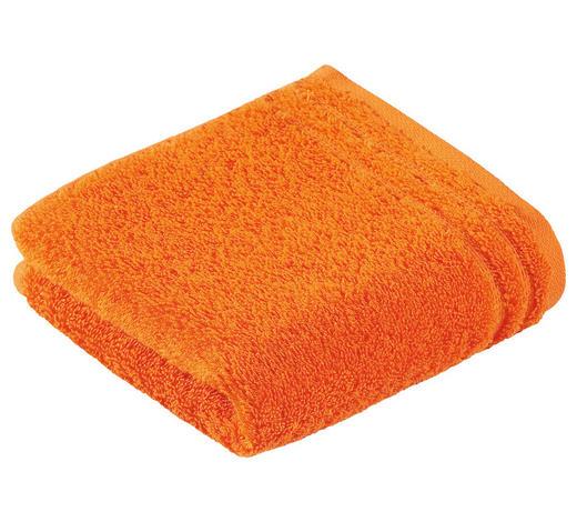 RUČNÍK PRO HOSTY, 30/50 cm, oranžová - oranžová, Basics, textil (30/50cm) - Vossen