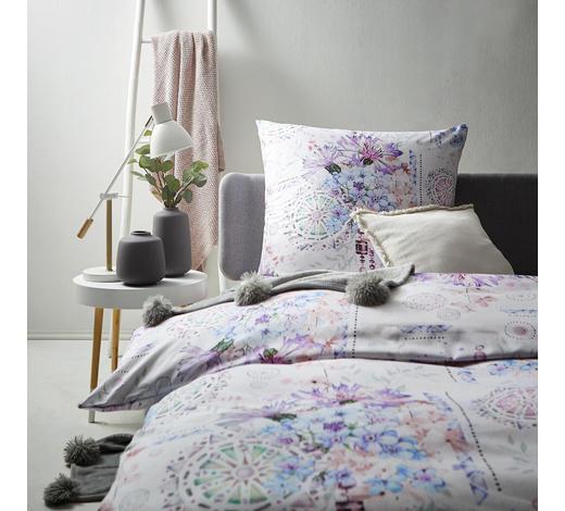 BETTWÄSCHE Satin Blau 155/220 cm - Blau, Trend, Textil (155/220cm)