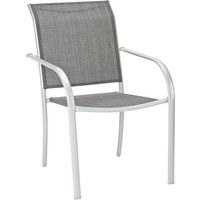 STOLICA SLOŽIVA - boje srebra, Design, metal/tekstil (56/86/66cm) - Ambia Garden