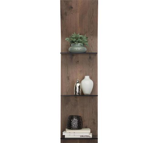 NÁSTĚNNÝ PANEL - barvy dubu, Design, dřevo/sklo (32,5/123,2/23,5cm) - Moderano