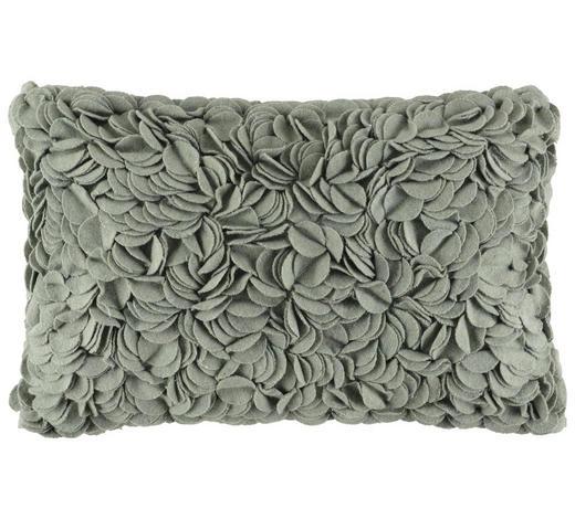 ZIERKISSEN 33/55 cm  - Grün, Design, Textil (33/55cm)