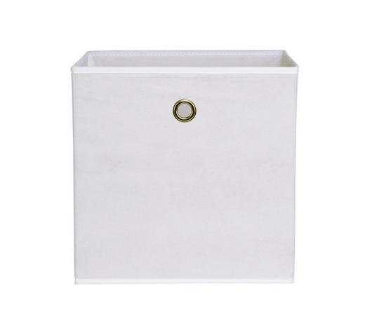SKLOPIVA KUTIJA - bijela, Design, tekstil (32/32/32cm) - Carryhome