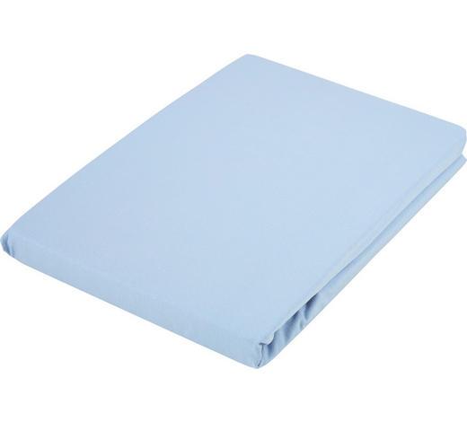 SPANNLEINTUCH 180/200 cm  - Hellblau, Basics, Textil (180/200cm) - Fussenegger