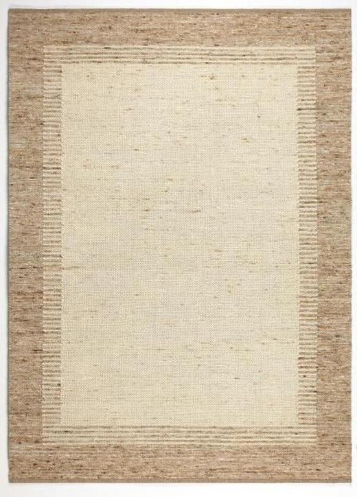 HANDWEBTEPPICH  160/230 cm  Naturfarben - Naturfarben, Basics, Textil/Weitere Naturmaterialien (160/230cm) - LINEA NATURA