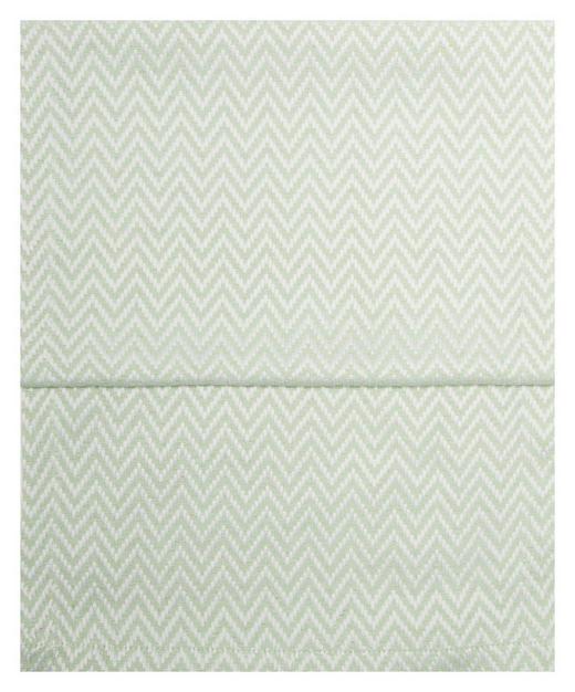 TISCHLÄUFER Textil Jacquard Hellgrün, Weiß 40/150 cm - Hellgrün/Weiß, Textil (40/150cm)
