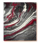 Webteppich Line - Rot, Basics, Textil (160/230cm) - Ombra