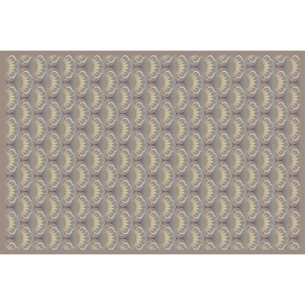 XXXLutz Vinyl teppich 90/60 cm braun