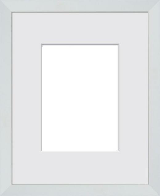 BILDERRAHMEN in Weiß - Weiß, Basics, Glas/Holz (43/33/3cm)