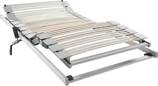 LATTENROST 120/200 cm - Weiß, Basics, Holz (120/200cm) - Sembella