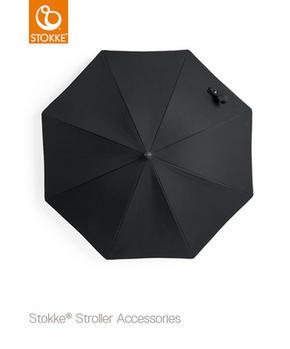 Stokke parasoll alla vagnar - svart, Basics, metall/textil (71/74cm) - Stokke