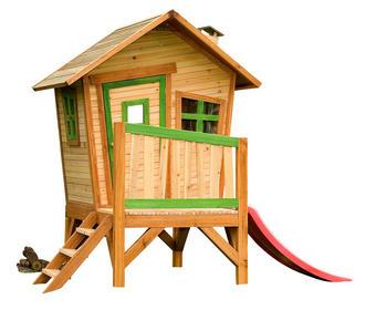 Axi Spielhaus Robin - Braun, Basics, Holz (262/203/157cm)