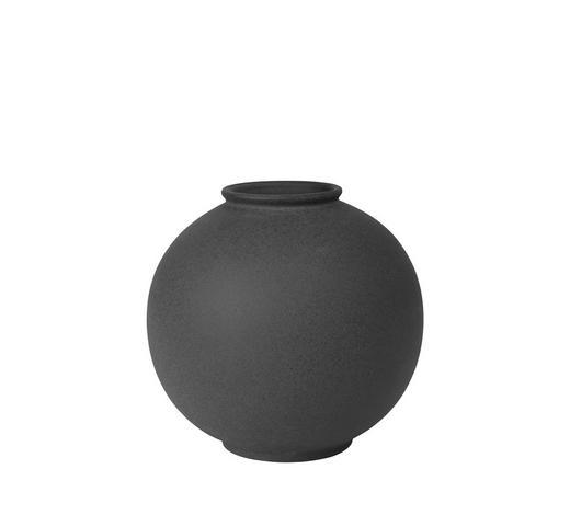 VASE 21 cm  - Anthrazit, Trend, Keramik (21/22,3cm) - Blomus