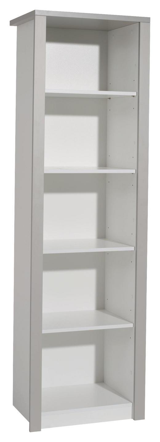 STANDREGAL Faro Grau, Weiß - Weiß/Grau, Design, Holzwerkstoff (55,7/183,5/42,9cm) - Paidi