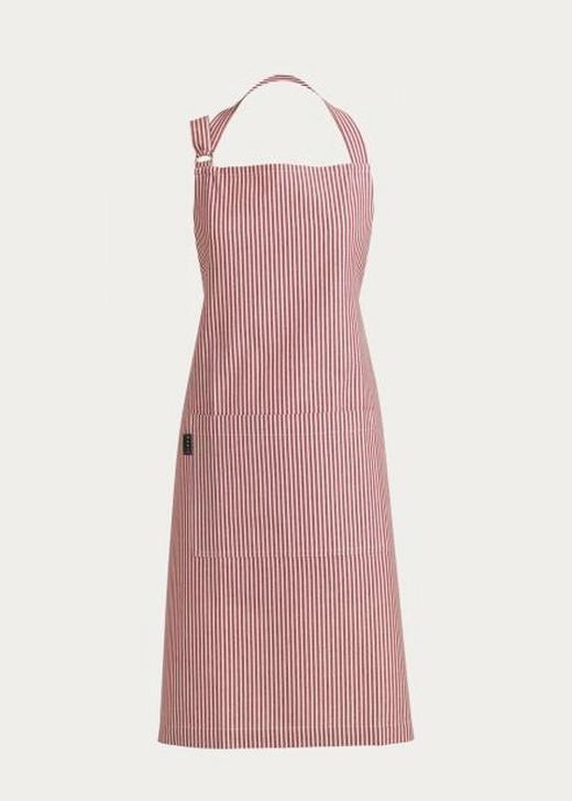 SCHÜRZE - Rot, Basics, Textil (80/105cm) - Linum