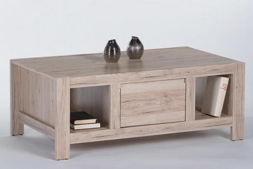 COUCHTISCH Eichefarben - Eichefarben, Design (120/45/60cm) - Carryhome
