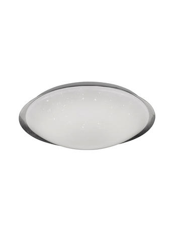 LED SVJETILJKA STROPNA - bijela/boje srebra, Design, plastika (40/11,5cm)