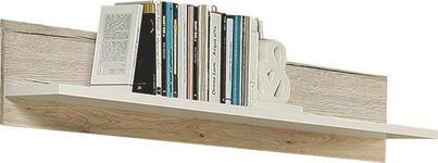 WANDBOARD in 119/22/20 cm Eichefarben  - Eichefarben, Design, Holzwerkstoff (119/22/20cm) - Carryhome