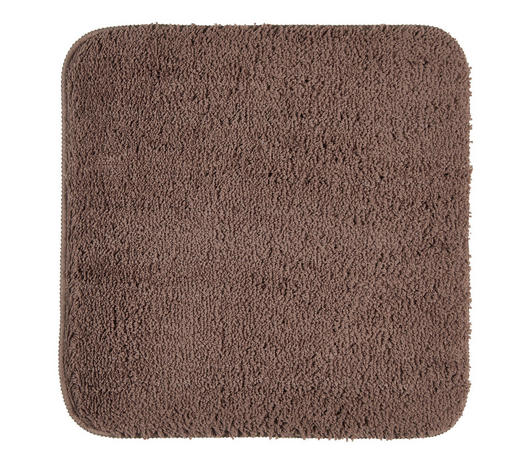 Badematte in Taupe 50/50 cm  - Taupe, Basics, Kunststoff/Textil (50/50cm) - Esposa