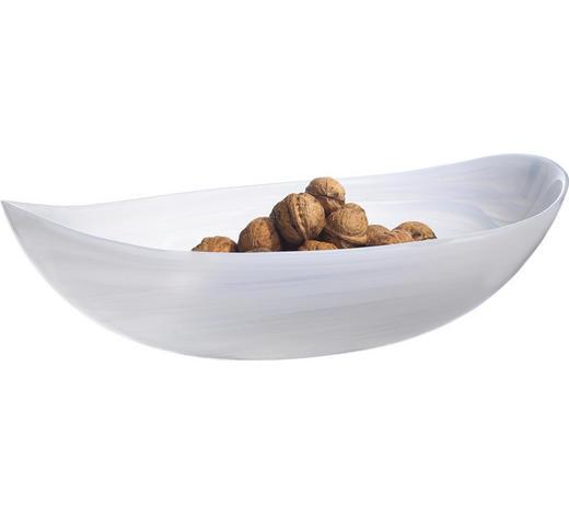 SCHALE  - Weiß, Basics, Glas (32cm) - Leonardo