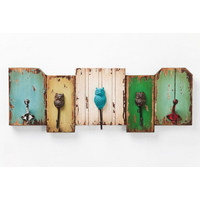 GARDEROBENLEISTE Multicolor - Multicolor, Design, Metall (64/23/8cm) - Kare-Design