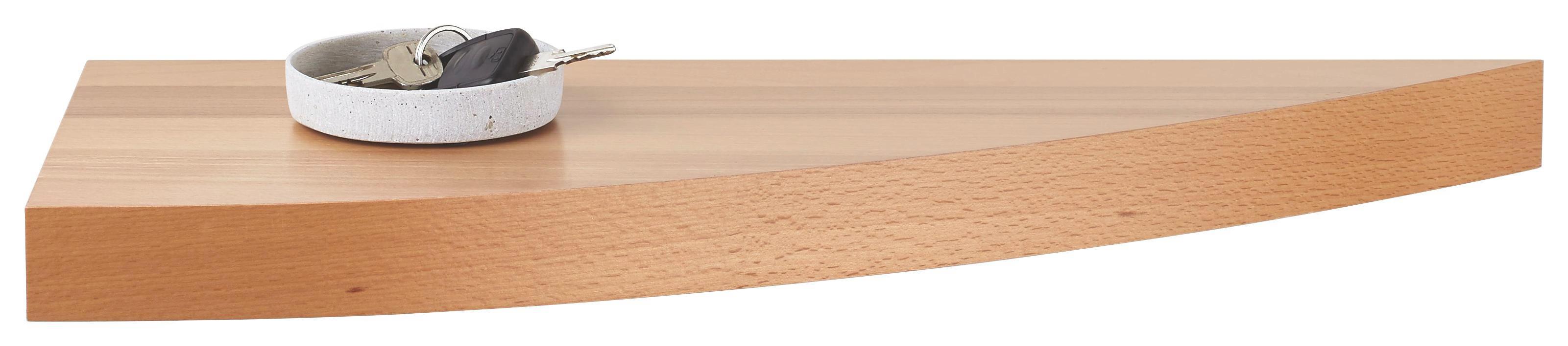 WANDBOARD in 60/25/4,6 cm Buchefarben - Buchefarben, Holz (60/25/4,6cm)