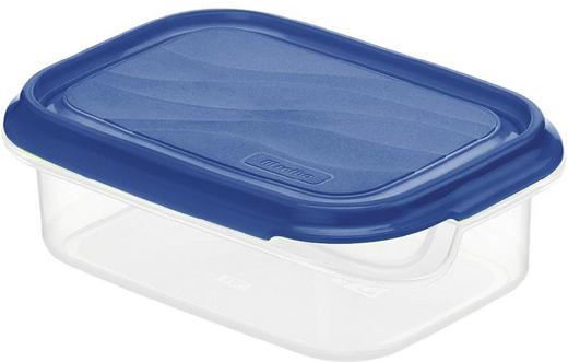 FRISCHHALTEDOSE 0,5 L - Blau/Naturfarben, Basics, Kunststoff (16/12/5,5cm)
