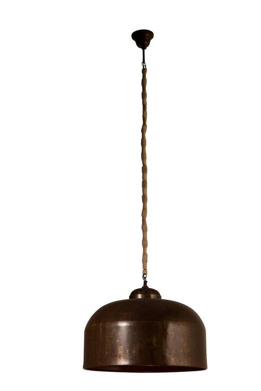 HÄNGELEUCHTE - Braun, KONVENTIONELL, Metall (50/50/133cm)
