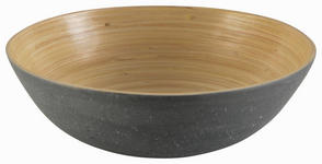 OBSTSCHALE Holz  - Grau, Design, Holz (25/25/8cm) - Homeware