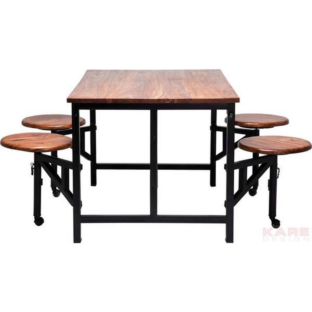 Kare-Design TISCHGRUPPE | Küche und Esszimmer > Essgruppen | Metall | Kare-Design