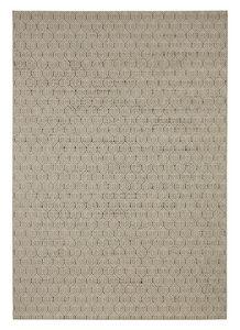 FLATVÄVD MATTA 60/110 cm  - mullvadsfärgad/gråbrun, Klassisk, plast (60/110cm) - Novel