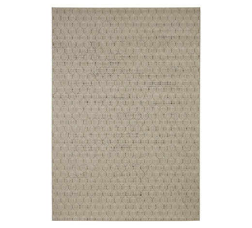 FLACHWEBETEPPICH - Taupe, KONVENTIONELL, Kunststoff (60/110cm) - Novel