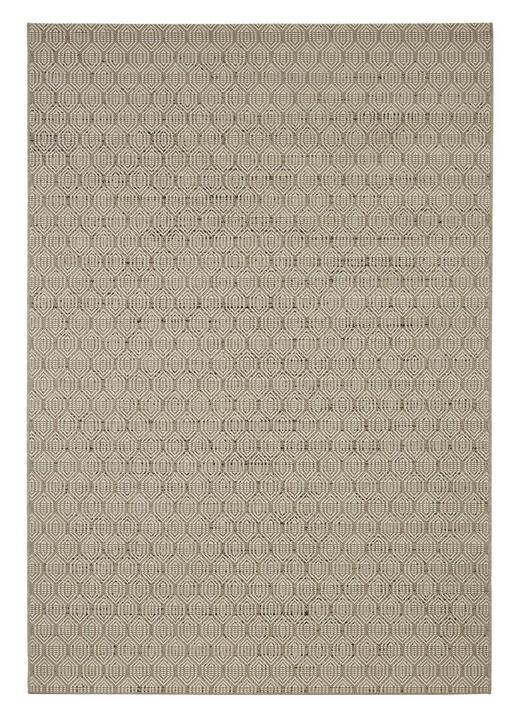 FLATVÄVD MATTA - mullvadsfärgad/gråbrun, Klassisk, plast (120/170cm) - NOVEL