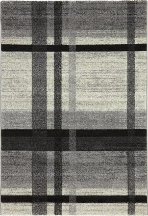 VÄVD MATTA - beige/grå, Klassisk, ytterligare naturmaterial/textil (120/170cm) - Novel