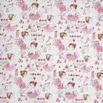 VORHANGSTOFF per lfm Verdunkelung  - Braun/Rosa, KONVENTIONELL, Textil (150cm) - Esposa