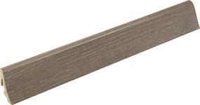 SOCKELLEISTE Eichefarben  - Eichefarben, Basics, Holz (1,85/3,85/240cm) - Homeware