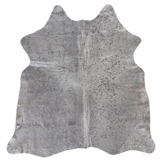 RINDERFELL - Beige/Silberfarben, Design, Leder/Fell (1,60/2,50/cm) - Linea Natura