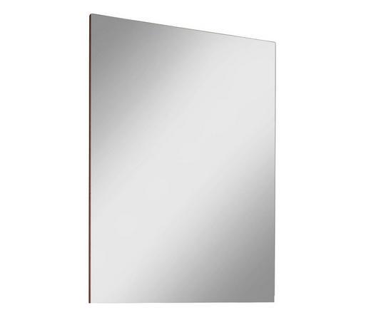 ZRCADLO, 65/98/4 cm,  - barvy dubu, Moderní, kompozitní dřevo/sklo (65/98/4cm) - Voleo