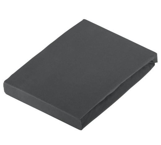 SPANNLEINTUCH 100/200 cm - Dunkelgrau, Basics, Textil (100/200cm) - Novel