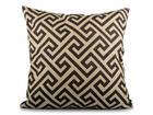 PRYDNADSKUDDE - beige/svart, textil (45/45cm)