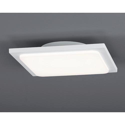 LED-AUßENLEUCHTE - Weiß, Design, Metall (25/25cm)