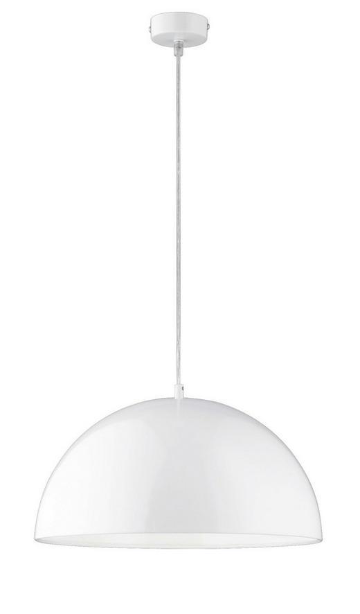 HÄNGELEUCHTE - Weiß, Design, Metall (40/130,00cm)