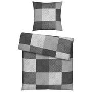 BETTWÄSCHE Biber Silberfarben 135/200 cm  - Silberfarben, Design, Textil (135/200cm) - Novel