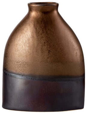 VAS - brun/guldfärgad, Lifestyle, keramik (19/9/25cm) - Ritzenhoff Breker