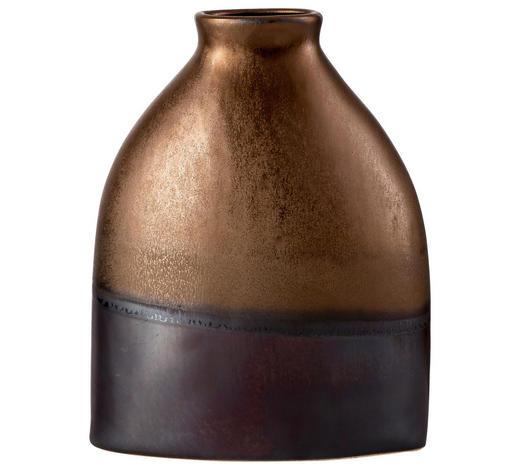 VASE 23 cm - Goldfarben/Braun, LIFESTYLE, Keramik (19/9/25cm) - Ritzenhoff Breker